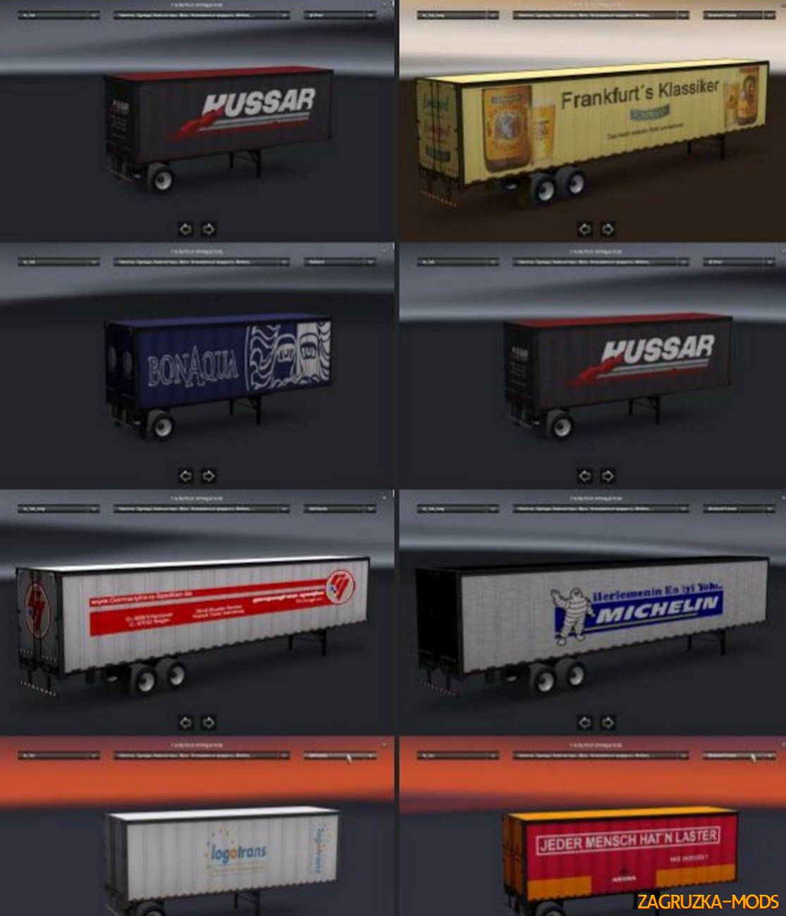 All Trailers Pack v.1.0.0 by Bricklayer