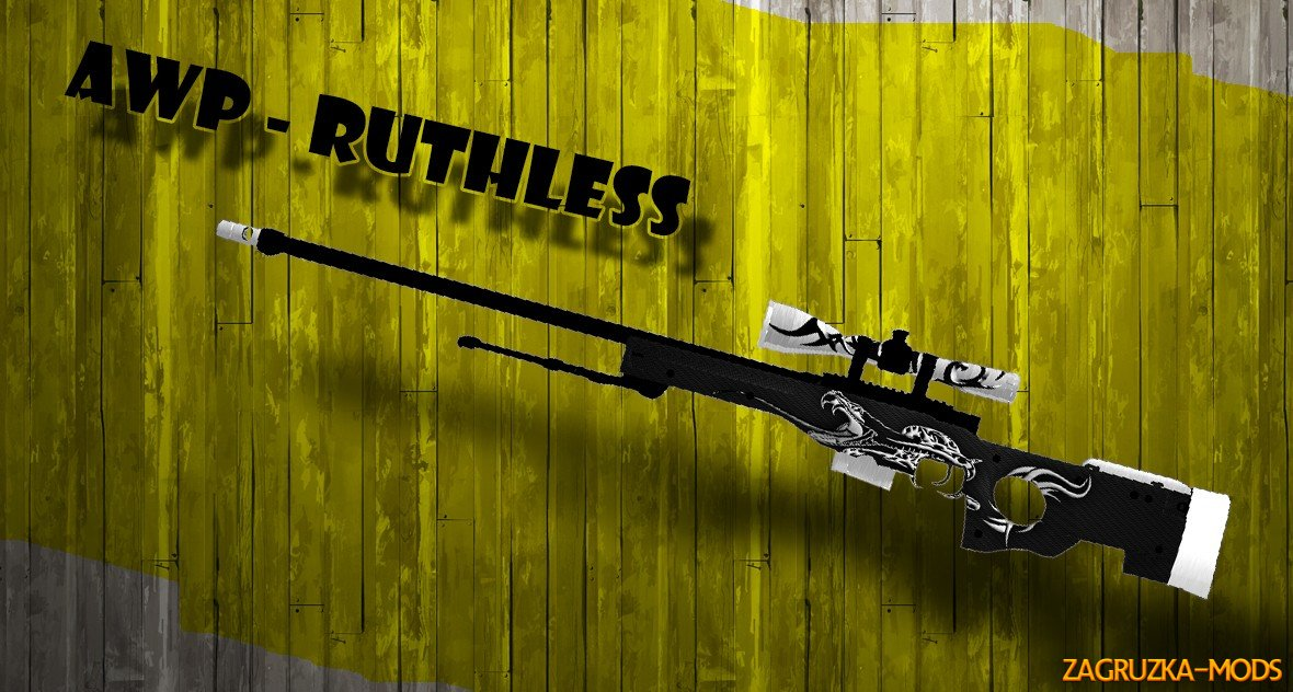 AWP Ruthless Skin for for CS:GO