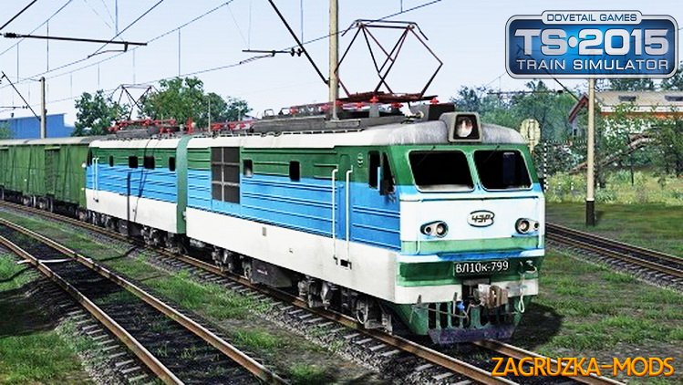 Electric Locomotive VL10k-799 (Beta) for TS 2016