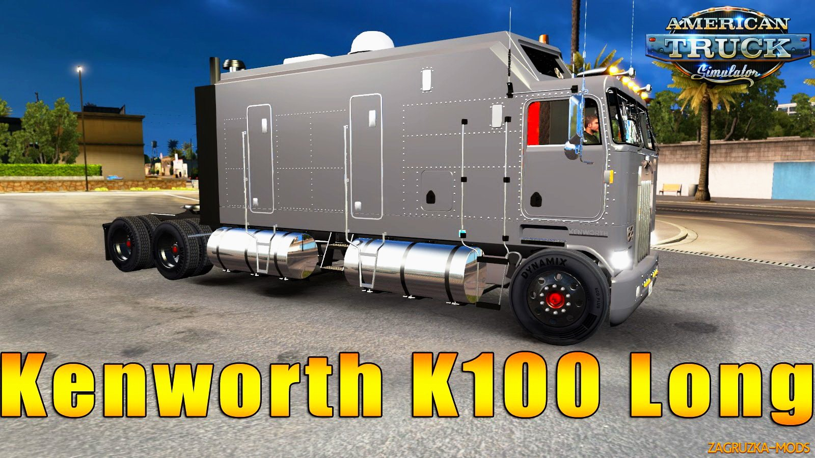 Kenworth K100 Long Edition v1.0 for ATS