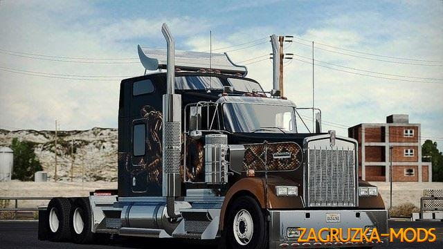 SCS Trucks Extra Bumpers and Parts v 1.3 for ATS