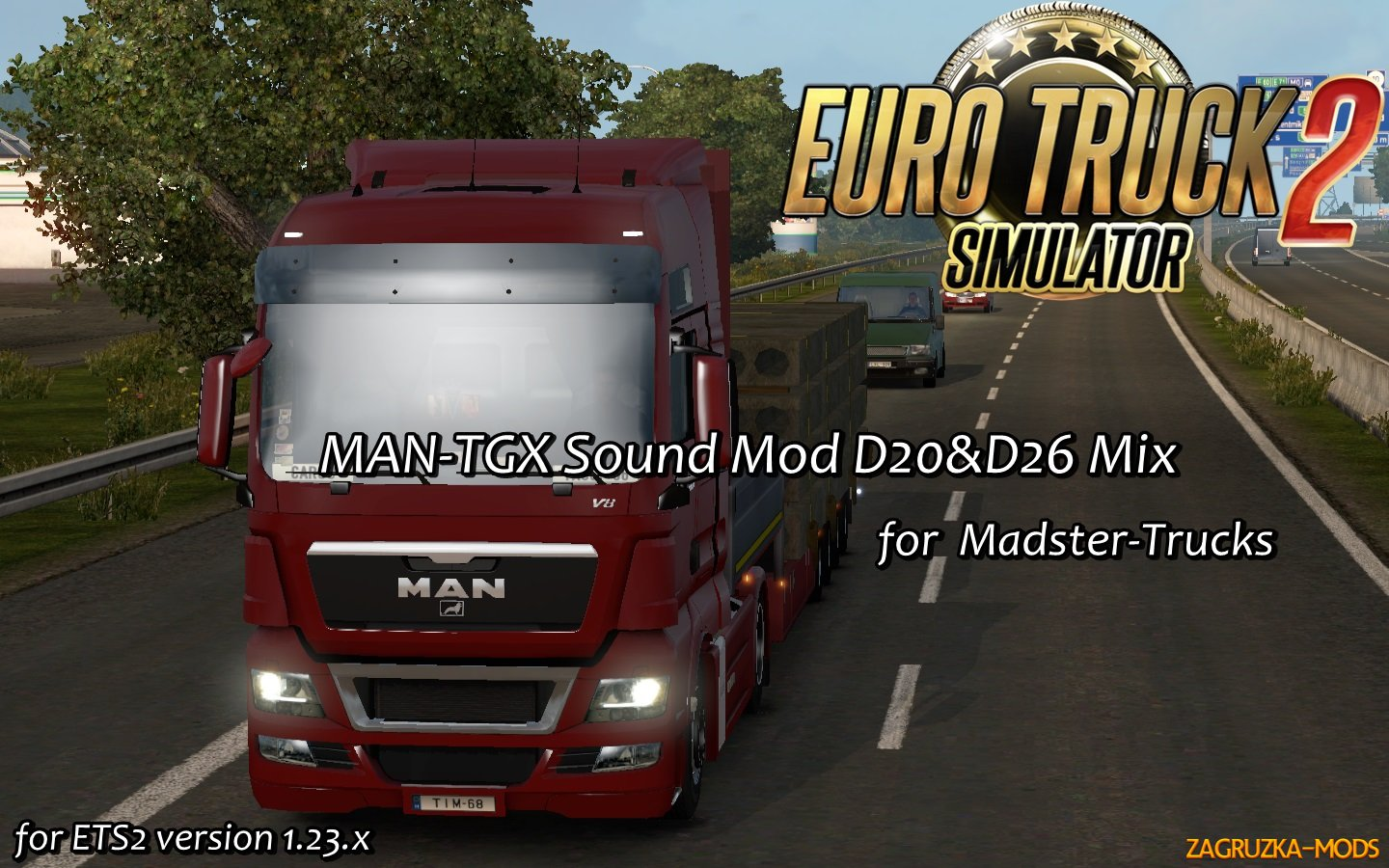 MAN-TGX Sound Mod D20&D26 Mix (FIXED)