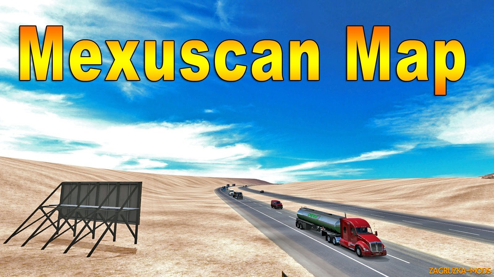 Mexuscan Map v1.9.3 by ManiaX for ATS