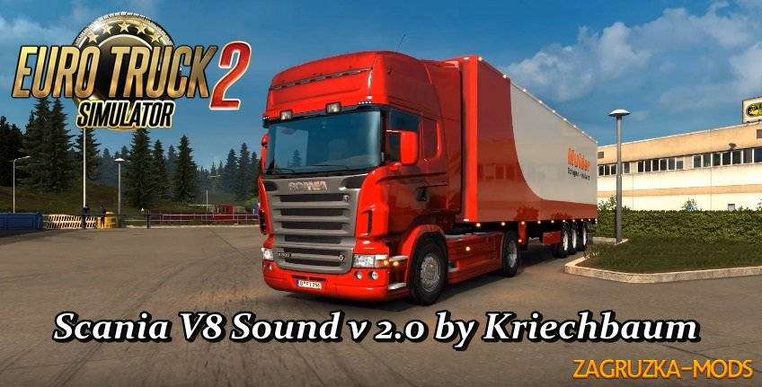 Scania Stock V8 Sound v 2.0 by Kriechbaum
