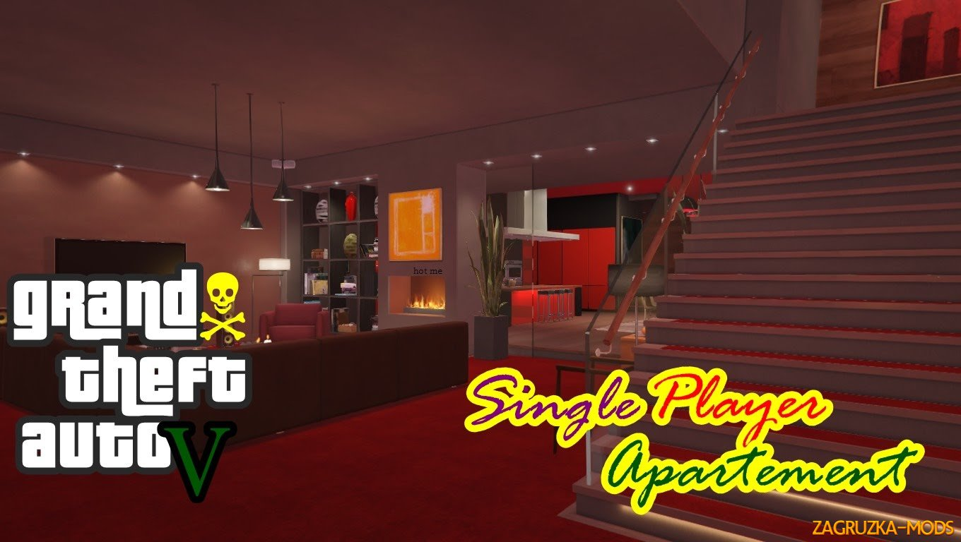 Single Player Apartment v1.9.1 for GTA 5