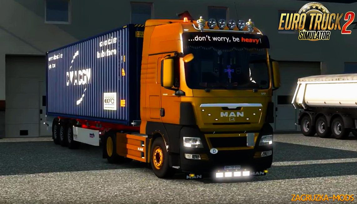 MAN TGX Reworked v2.1 by MADster for ETS 2