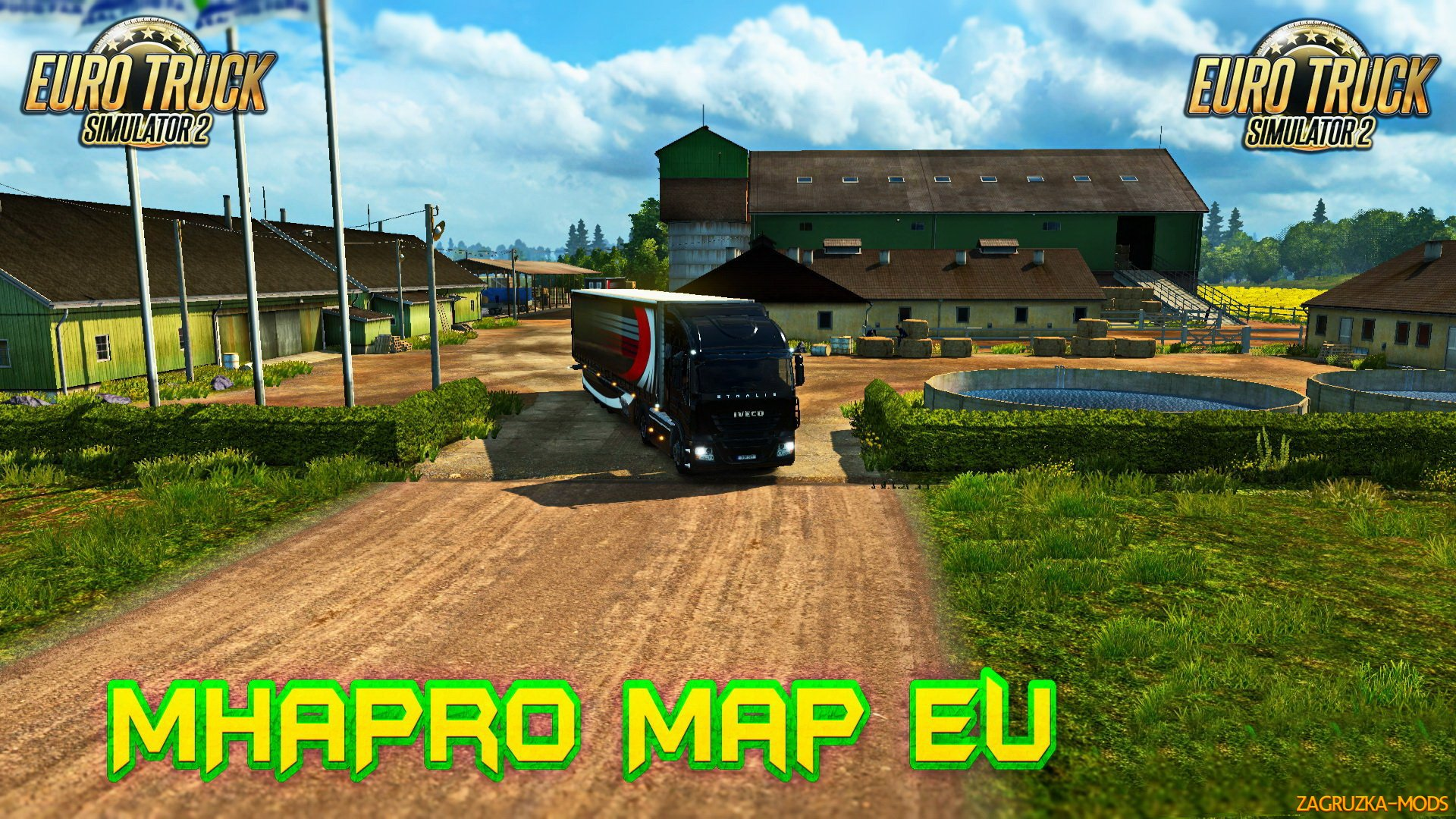 MHAPro EU Map v1.37 by MsHeavyAlex (1.37.x) for ETS2