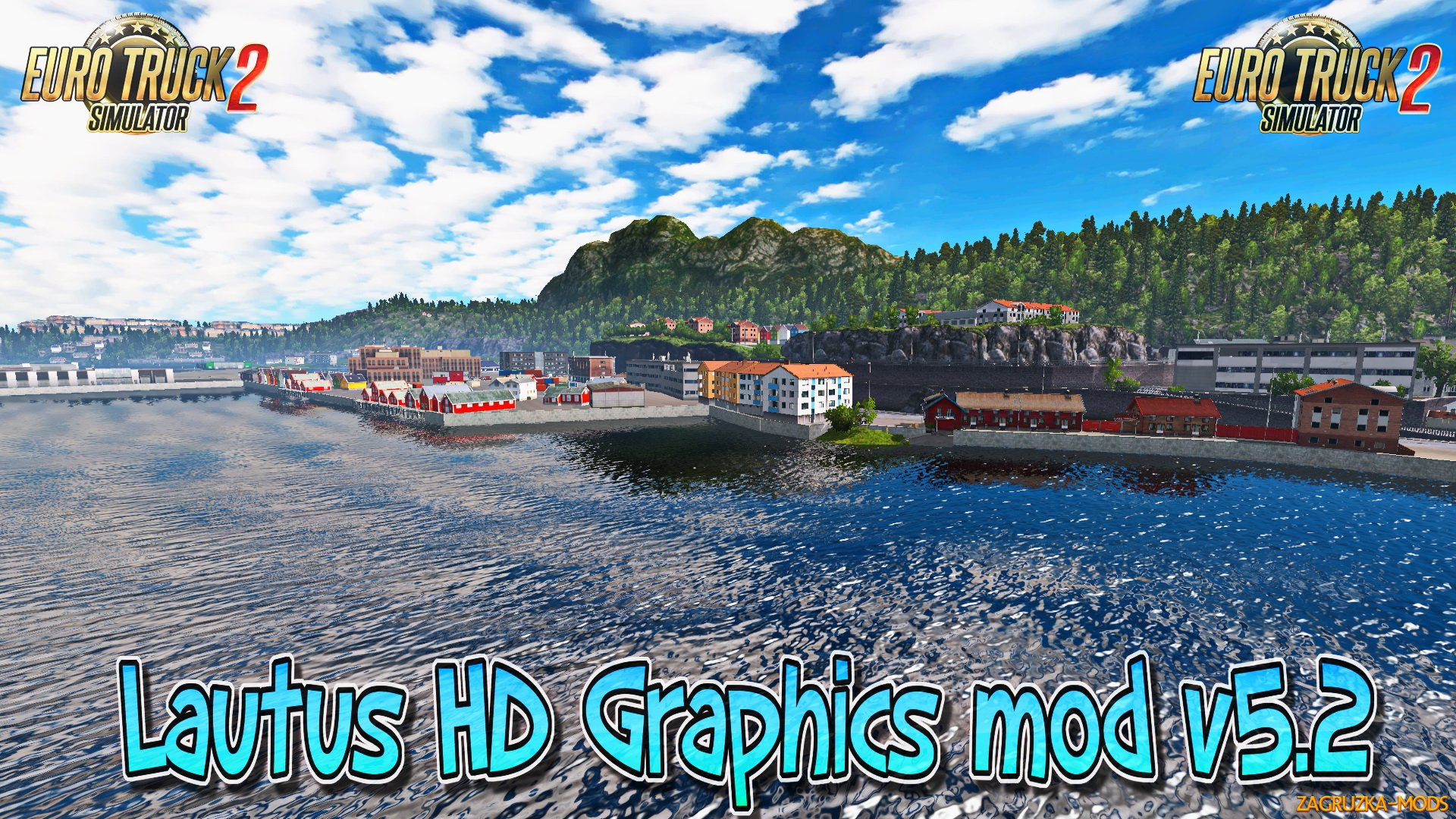 Lautus HD Graphics mod v5.2 (v1.23.x) for ETS 2