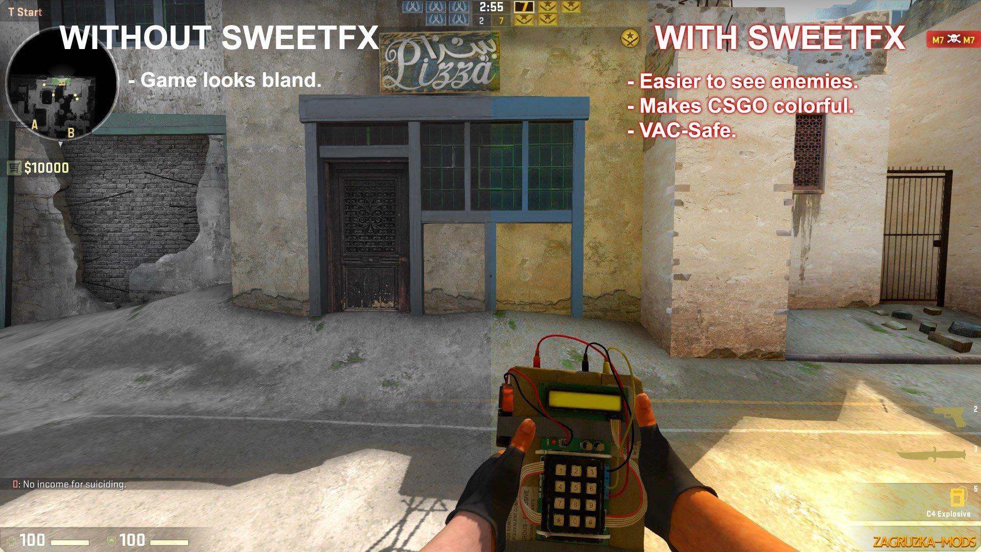 SweetFX Graphics Mod for CS:GO