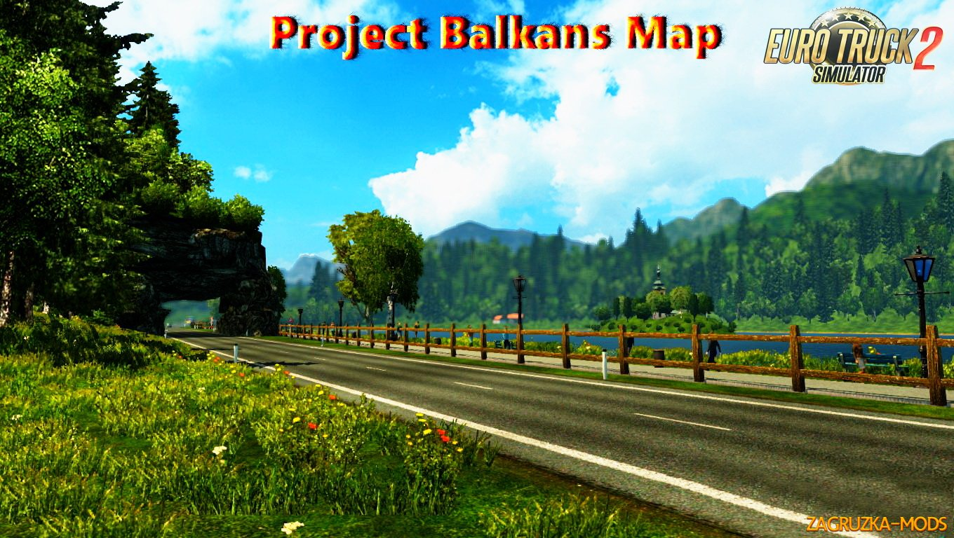 Project Balkans v 2.03 (ProMods addon for 1.24.x)