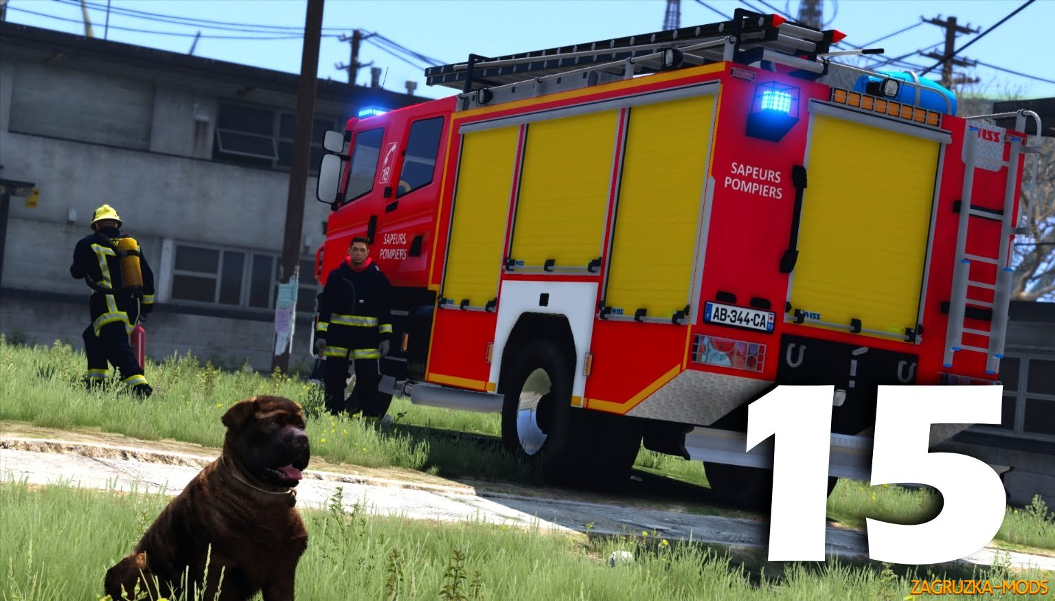 Firefighter Mod (Mode Sapeurs-Pompiers) v2.8 for GTA 5