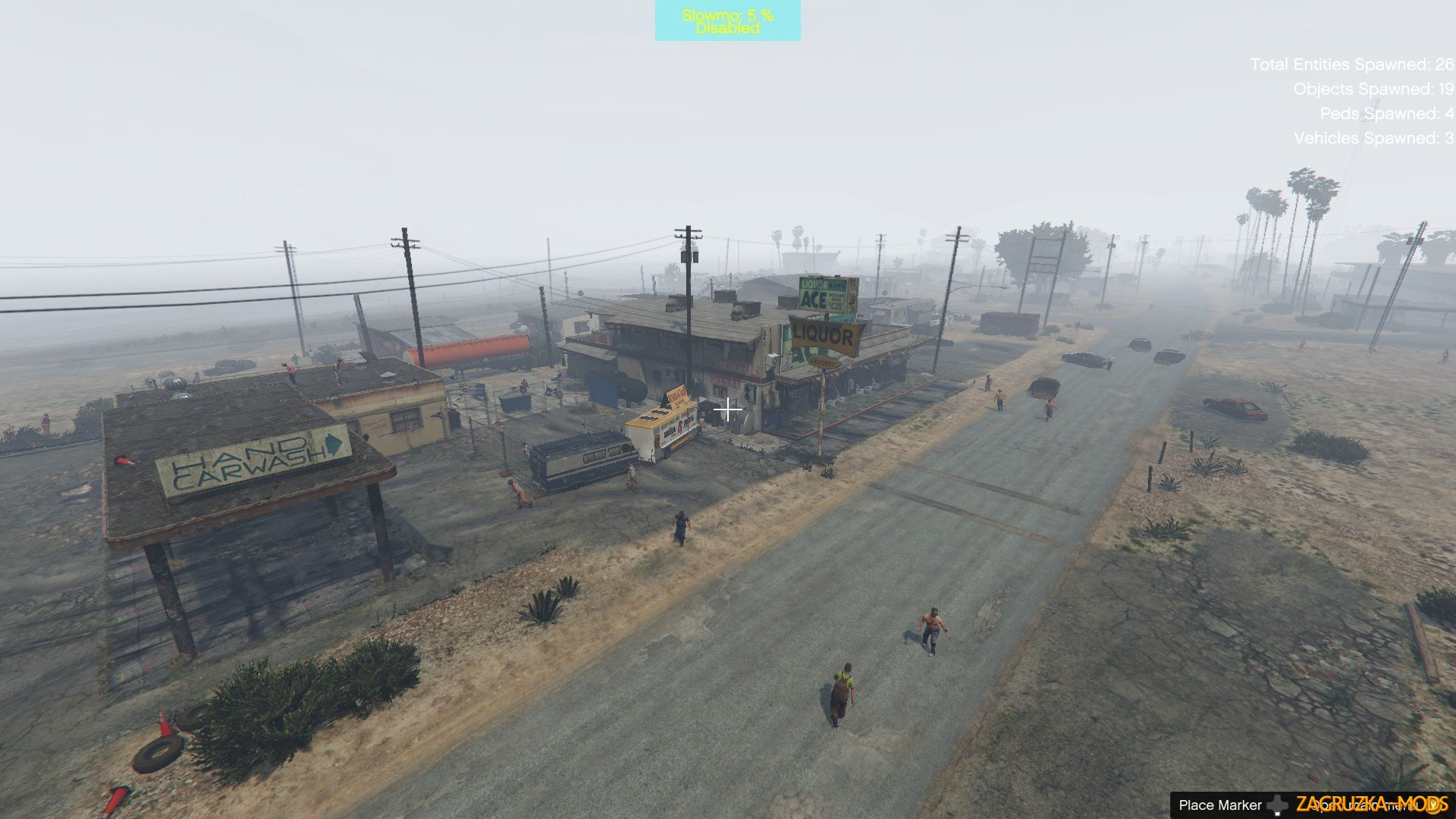 The Walking Dead Inspired: Zombie Survival Map v0.1 for GTA 5