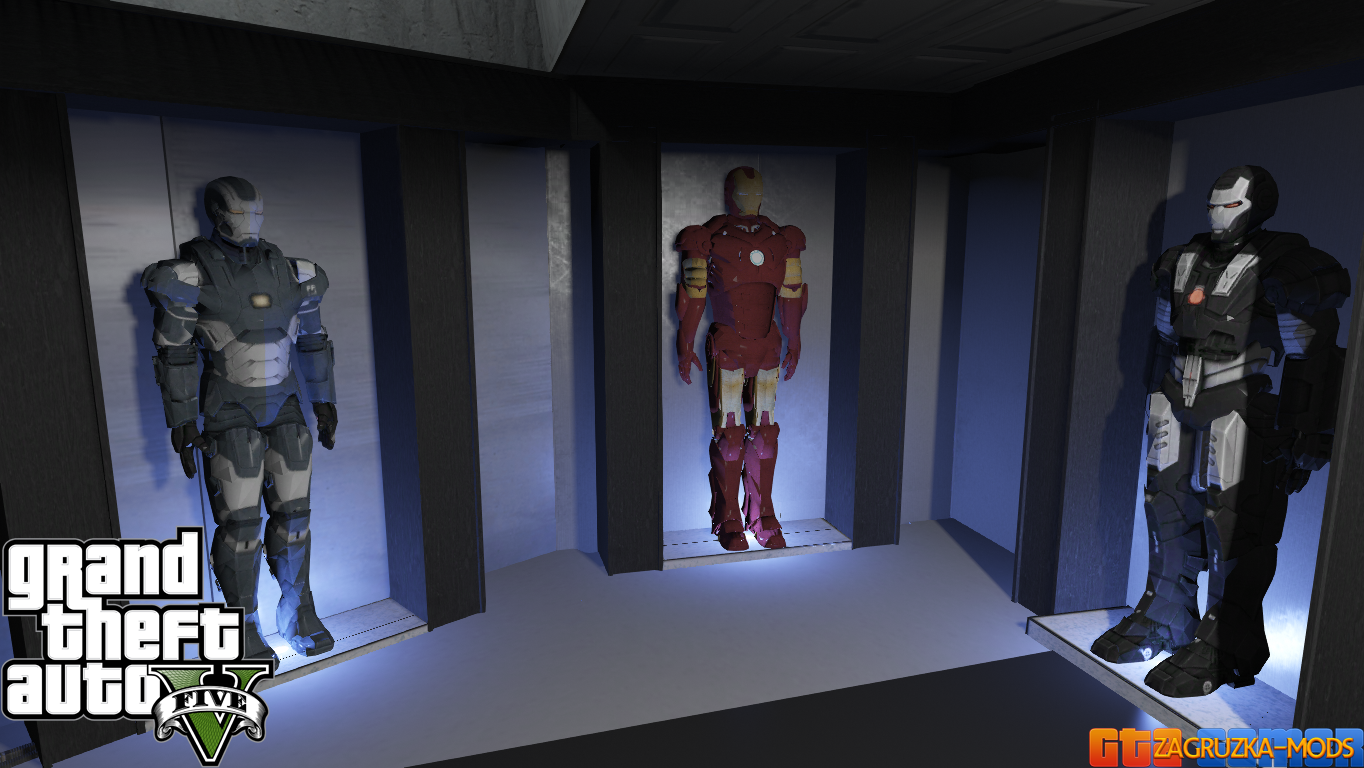 Iron Man (Tony Stark House) v2.1 for GTA 5