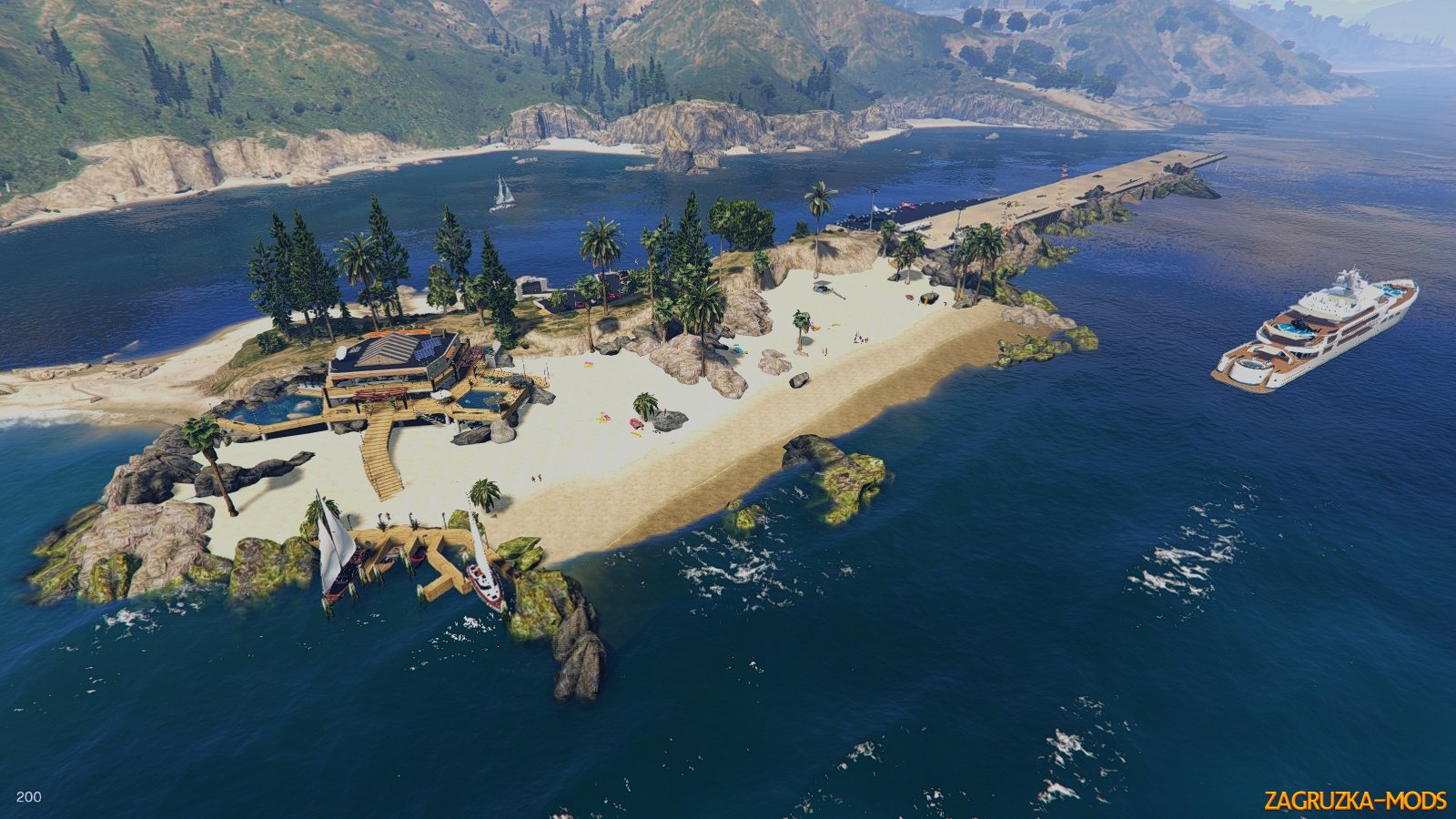Palomino Paradise Bay v1.1 for GTA 5