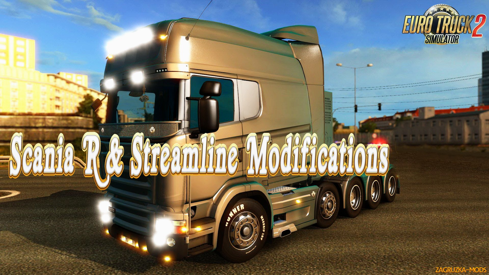 Scania R & Streamline Modifications v1.5.2.1 by RJL for ETS 2
