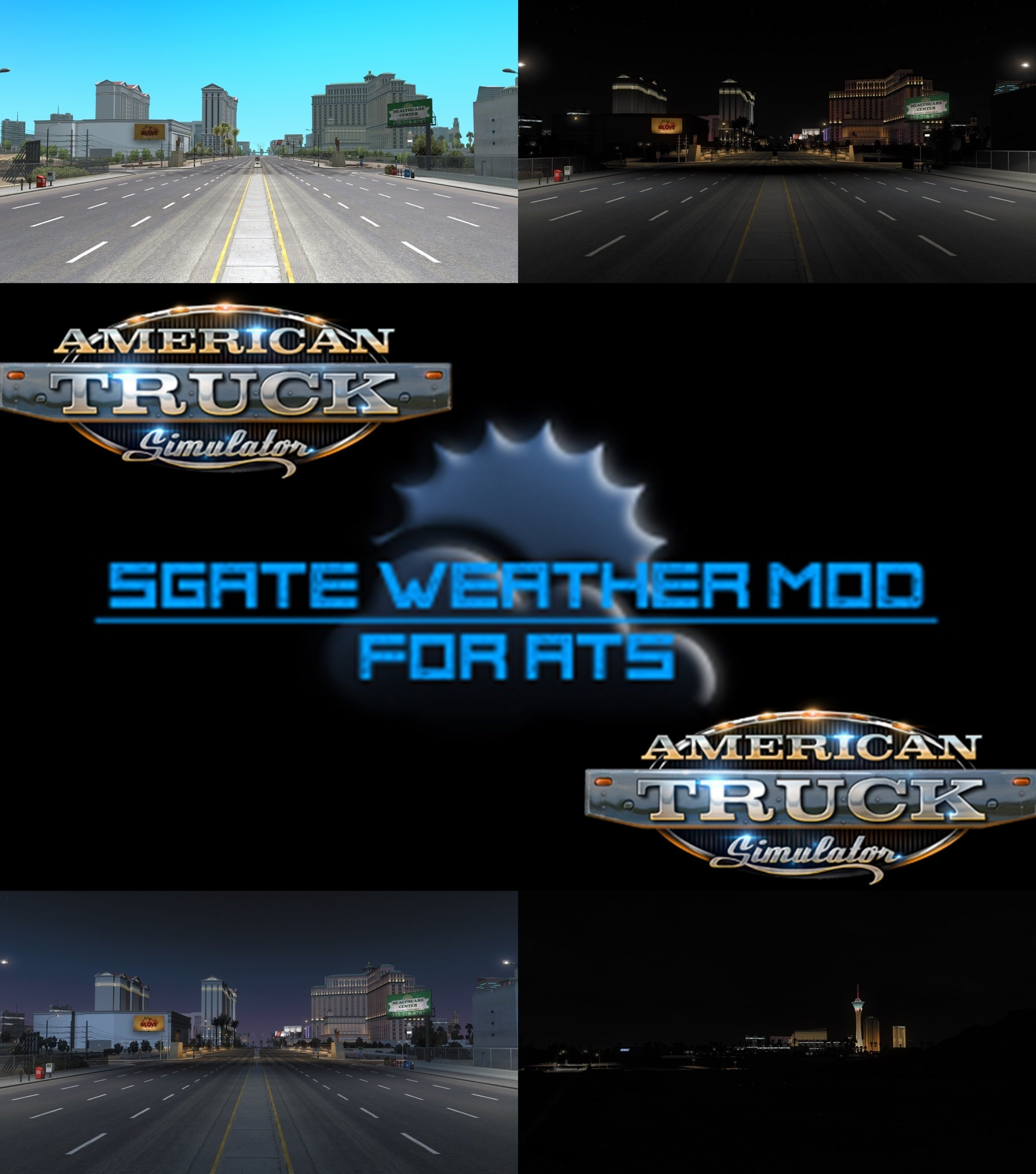 SGate Weather Mod v 1.1 for ATS