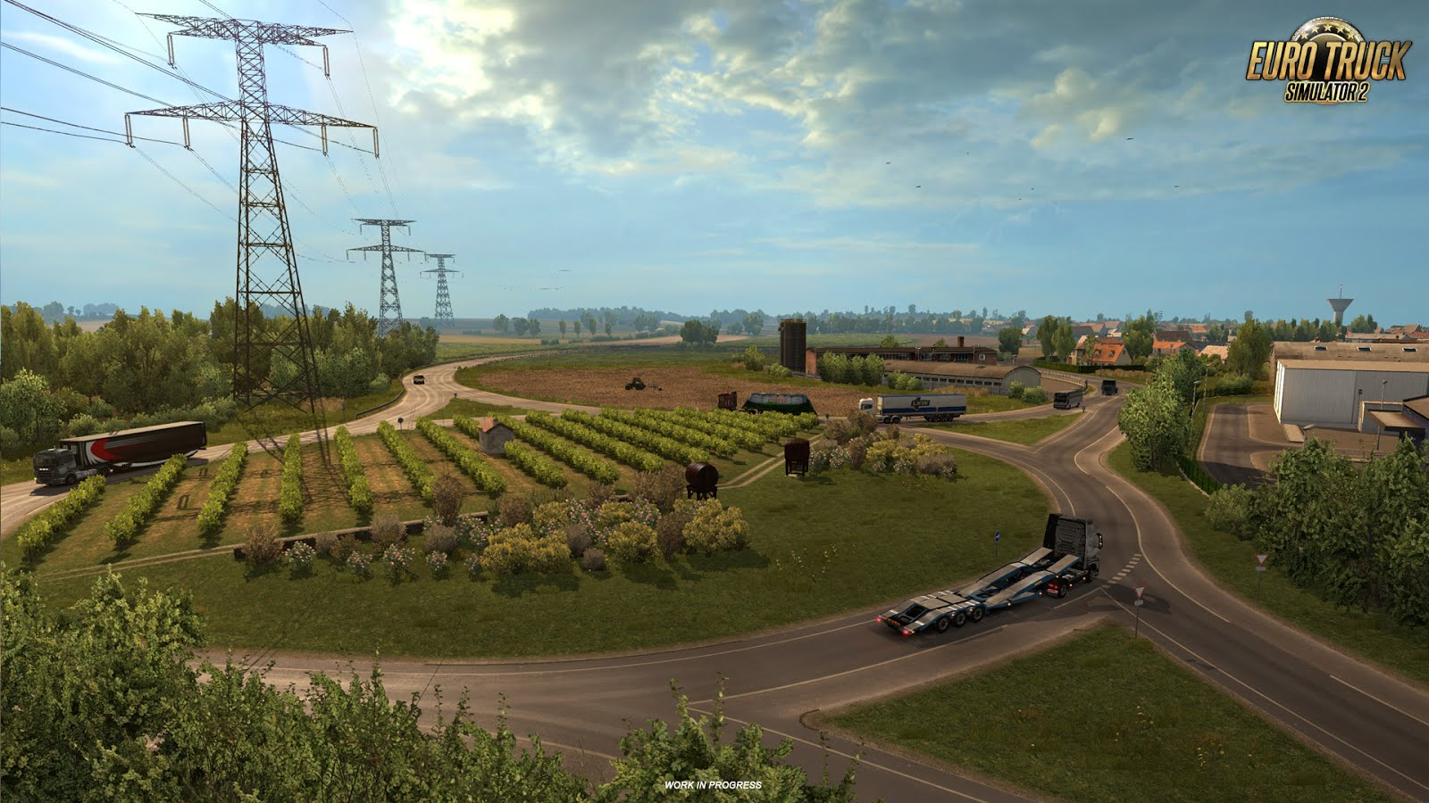 Vive La France DLC (Upcoming Soon) for ETS 2