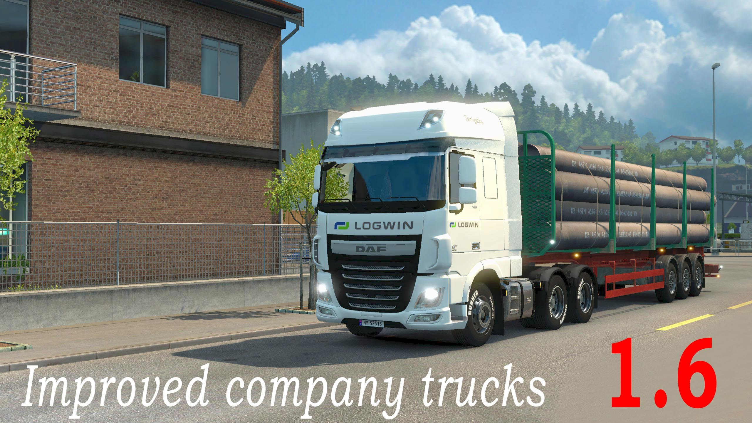 Improved Company Trucks Mod v 1.6