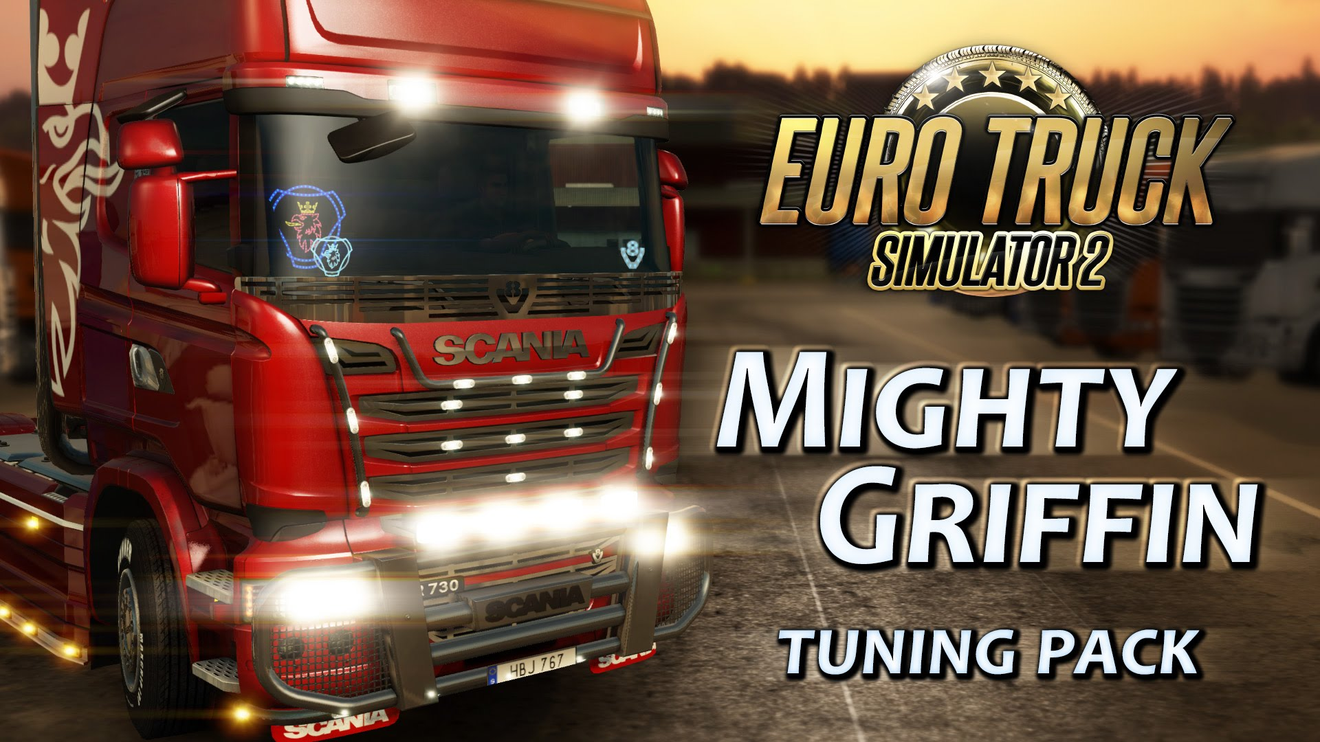 Download Mighty Griffin DLC Tuning Pack for ETS 2