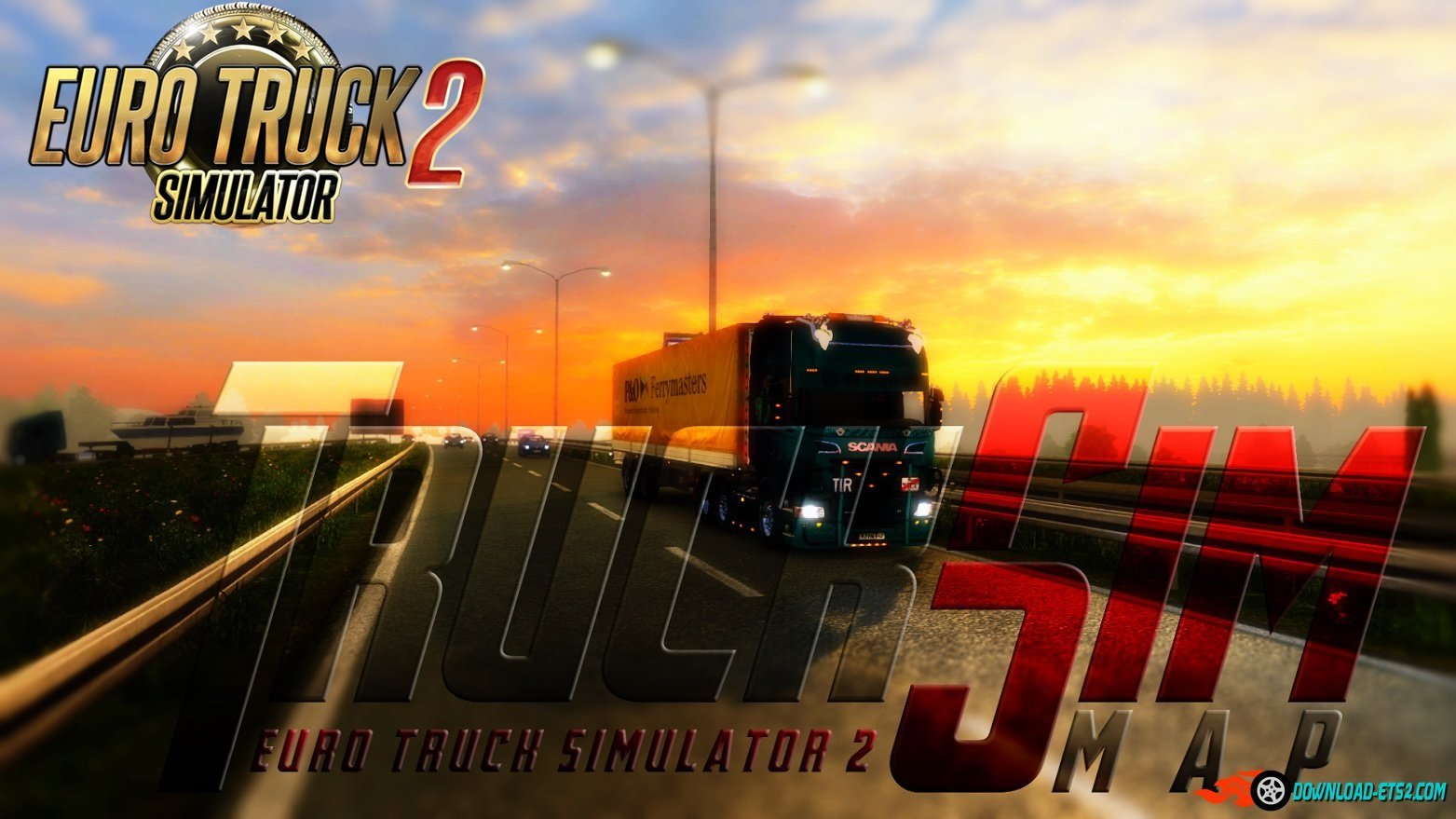 TruckSim Map 6.3.1 [1.24.x] incl. Hotfix