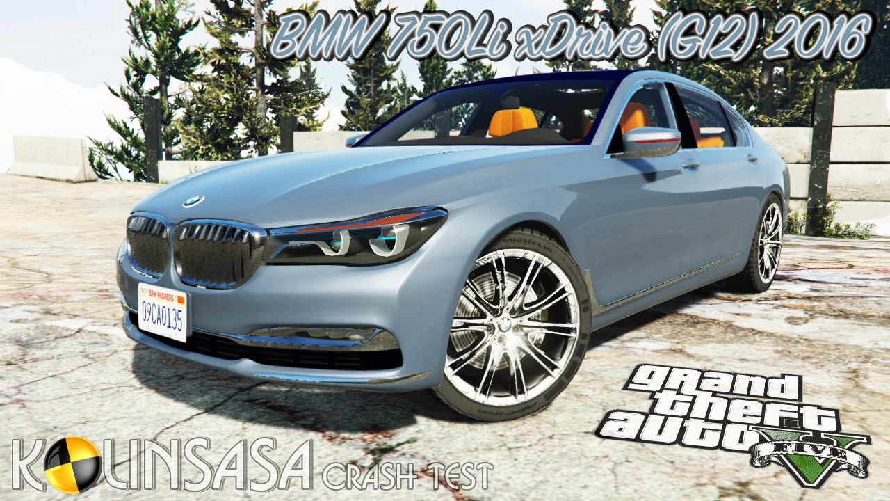 BMW 750Li 2016 v1.2 for GTA 5