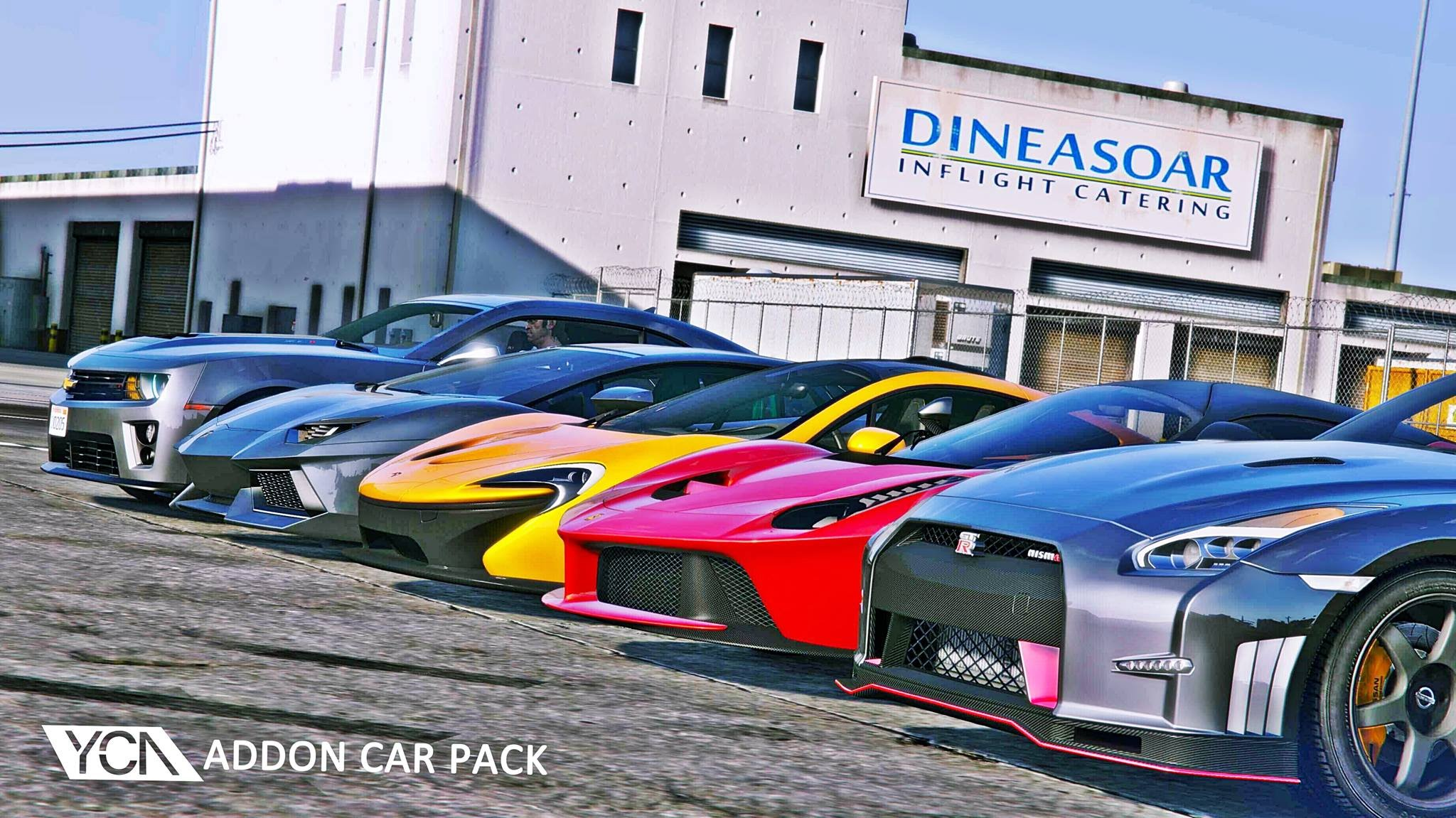 YCA Add-On Cars Pack v1.1 for GTA 5