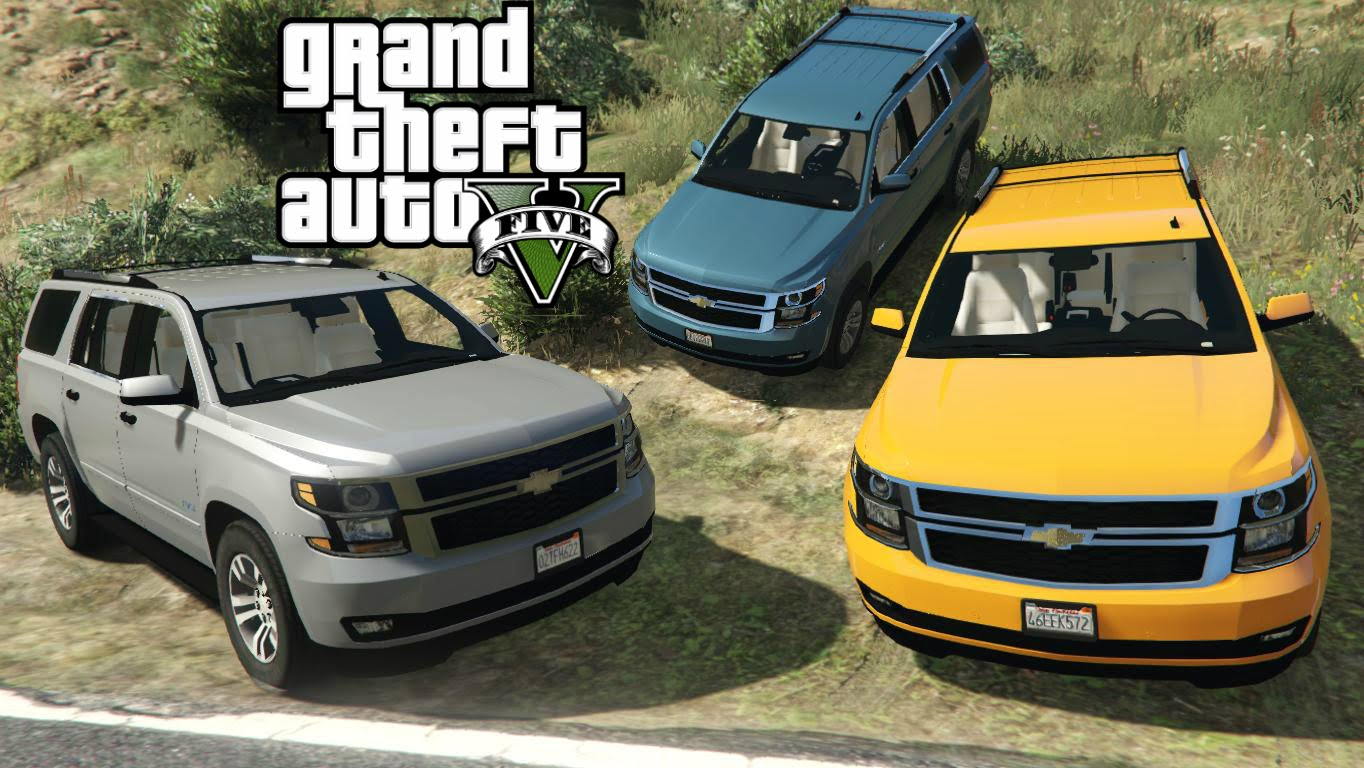 Chevrolet Tahoe v3.0 for GTA 5