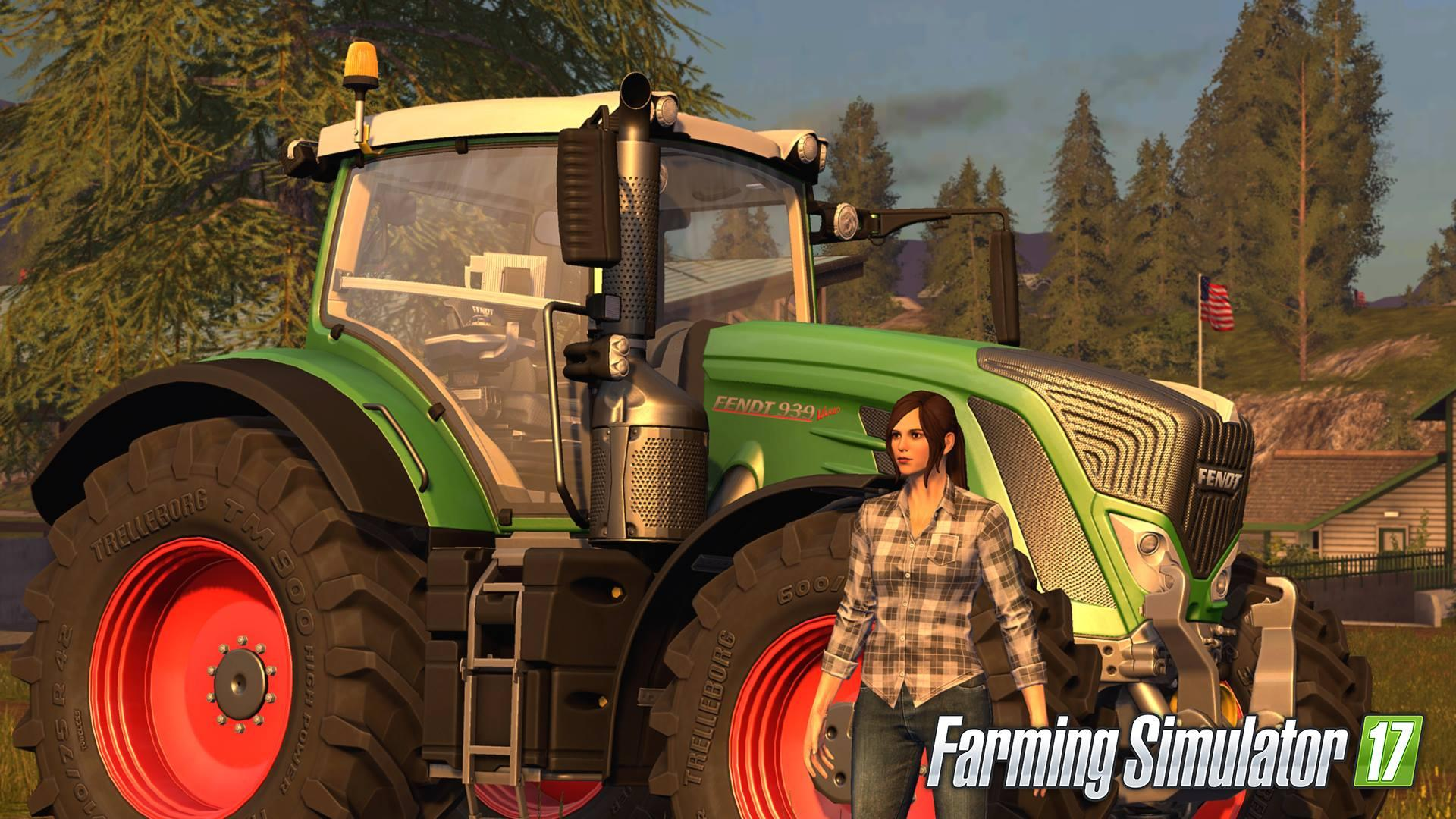 FS17 offers the option to play as a female farmer