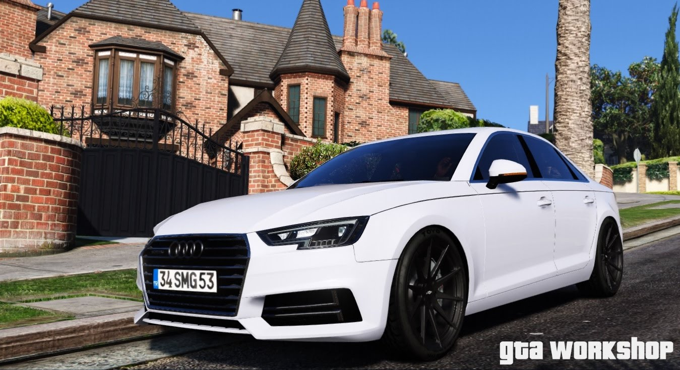 Audi A4 B9 Quattro ABT + Tuning v1.1 for GTA 5
