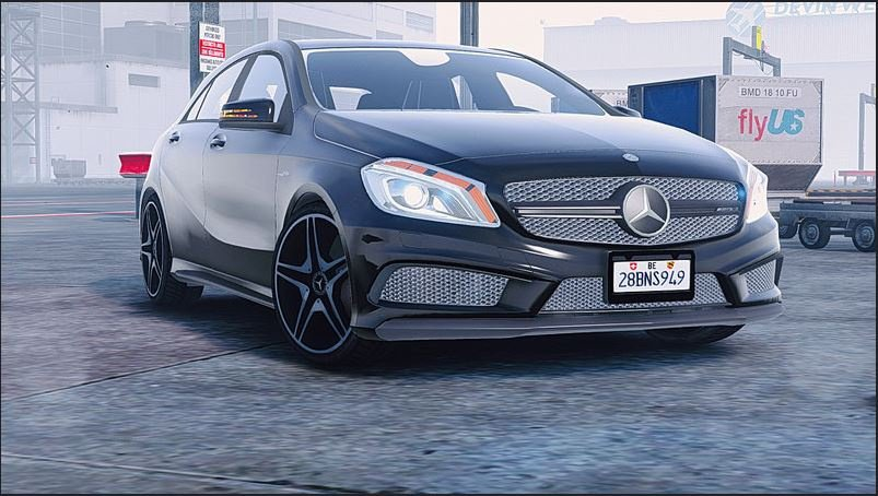 Mercedes-Benz A45 2012 v2.5 for GTA 5