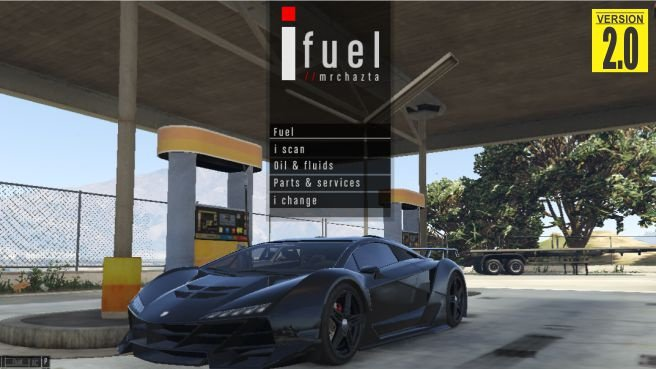 I fuel Mod v2.0 for GTA 5