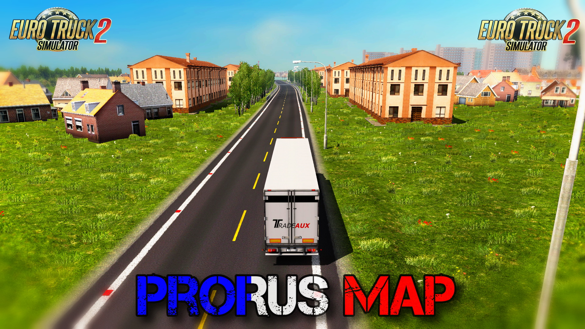 ProRus Map v1.3 (1.24.x) for ETS 2