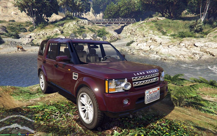 Land Rover Discovery 4 v1.0 for GTA 5