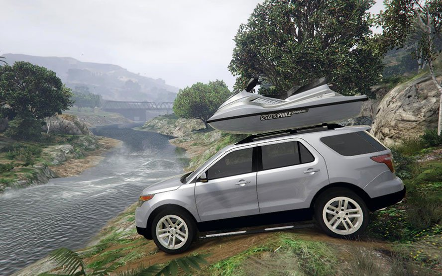 Ford Explorer 2014 v1.0 for GTA 5