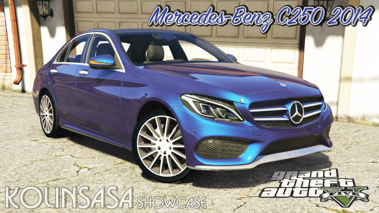 Mercedes-Benz C250 Sedan 2014 v2.0 for GTA 5