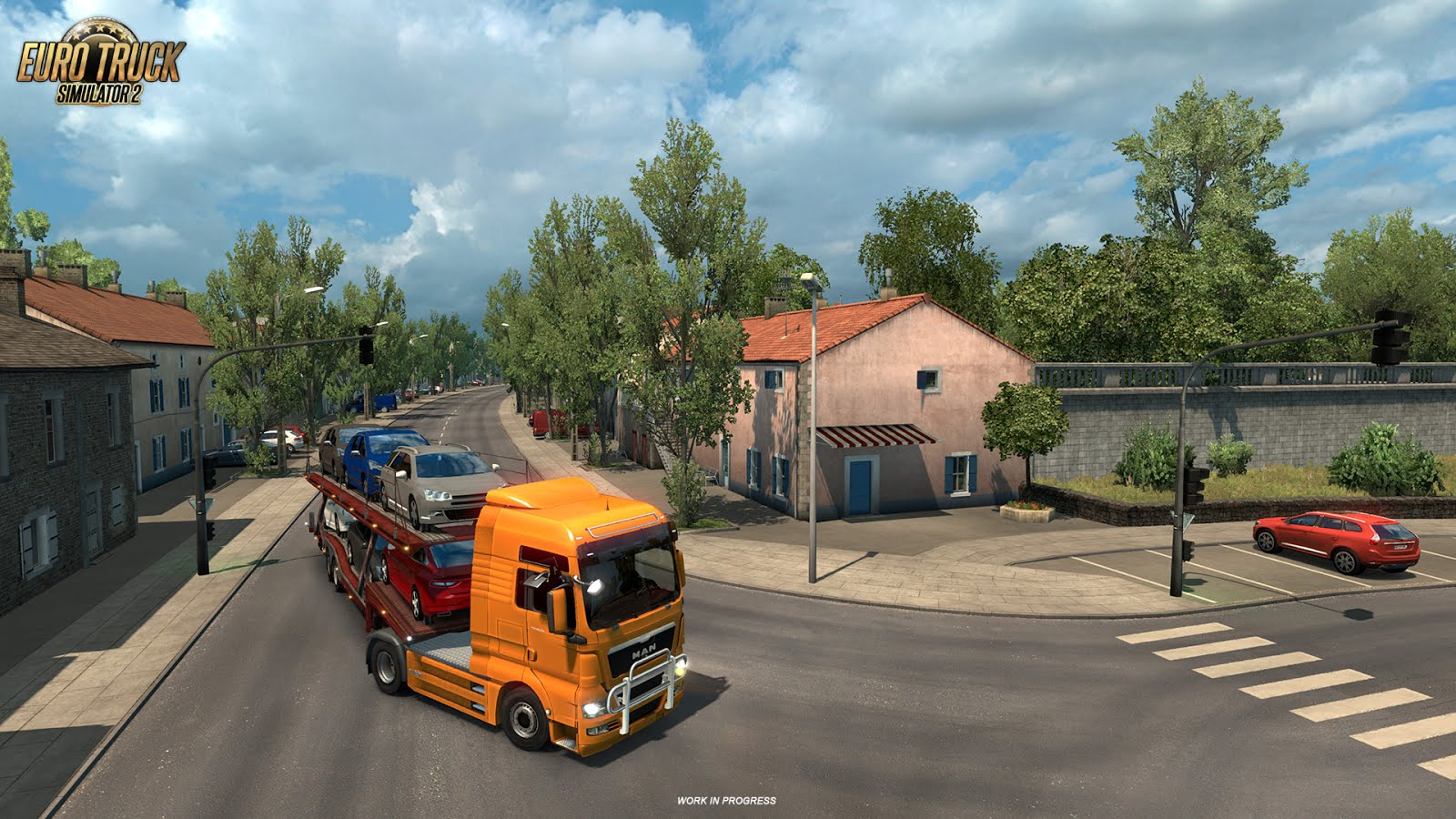 Images from La Rochelle - Vive La France DLC for ETS 2