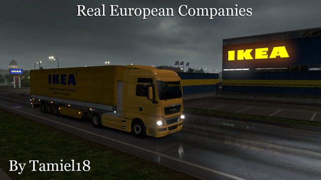 Real European Companies v1.0 by Tamiel18