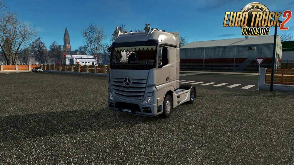 Mercedes Benz MP4 for Ets2