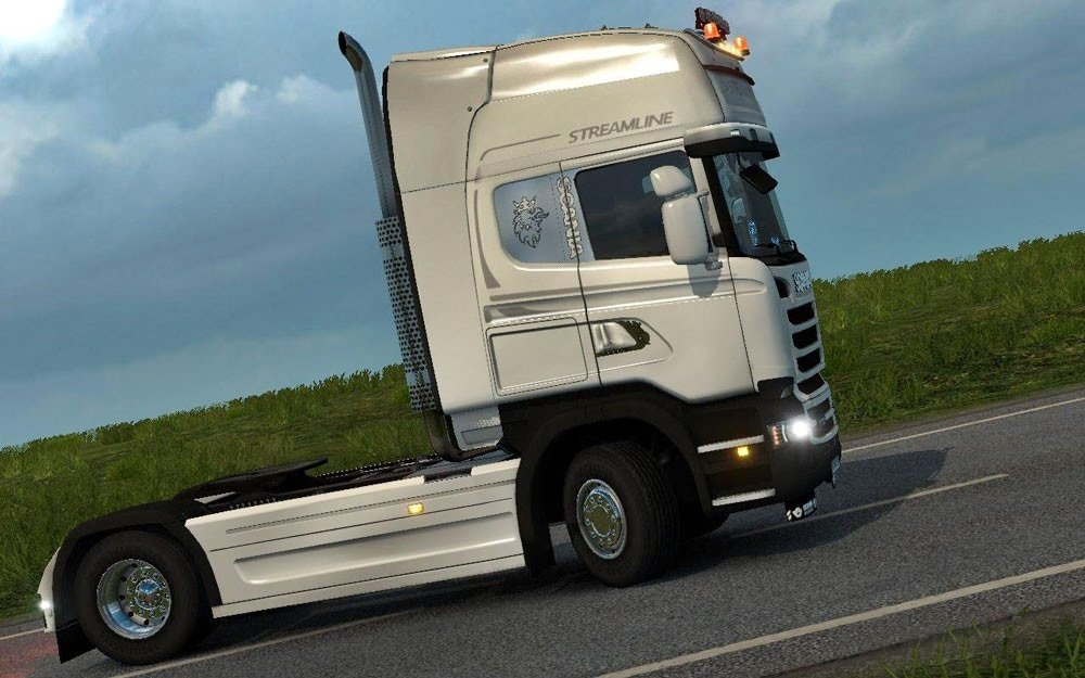 Scania Streamline Plastic Bumper and Fenders [1.24.x]