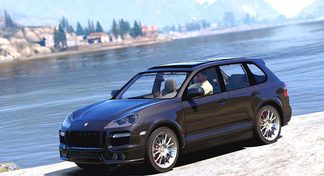Porsche Cayenne Turbo 2010 v1.0 for GTA 5