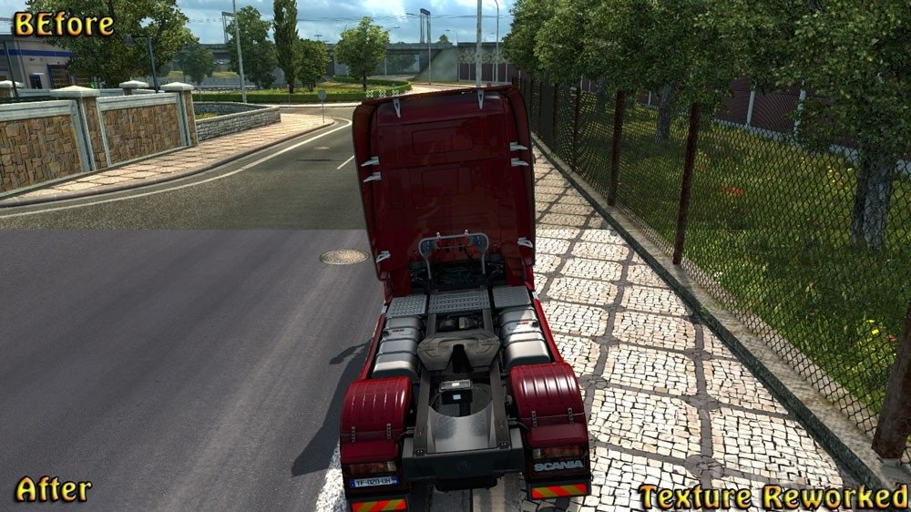 Texture reworked v 2.3 for Ets2