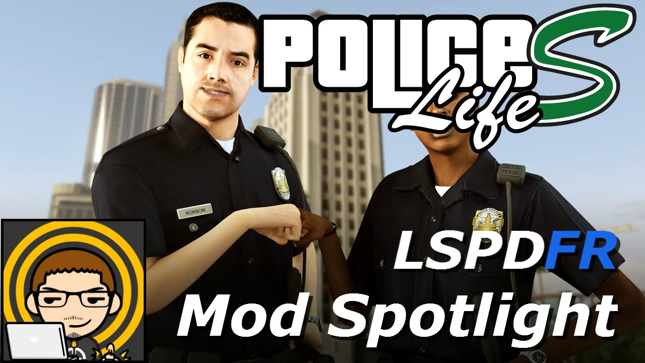 PoliceLifeS [LSPDFR] v1.0.0.6 for GTA 5