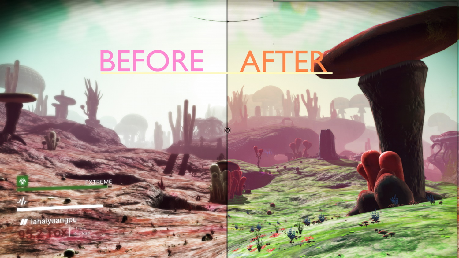 More colour palette combinations v1.2 for No Mans Sky