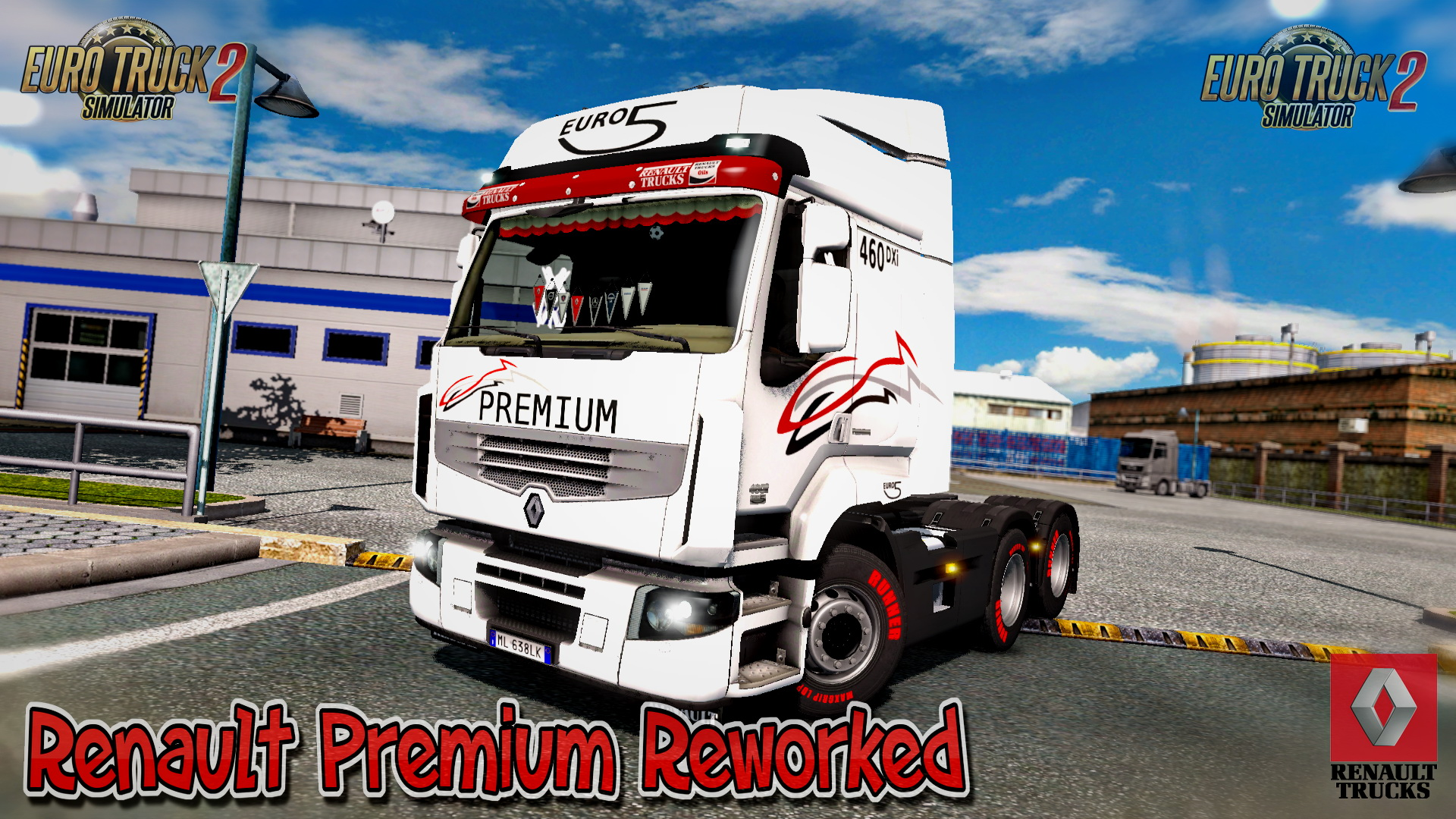 Renault Premium Reworked v4.2 by Schumi (1.30.x) for ETS 2
