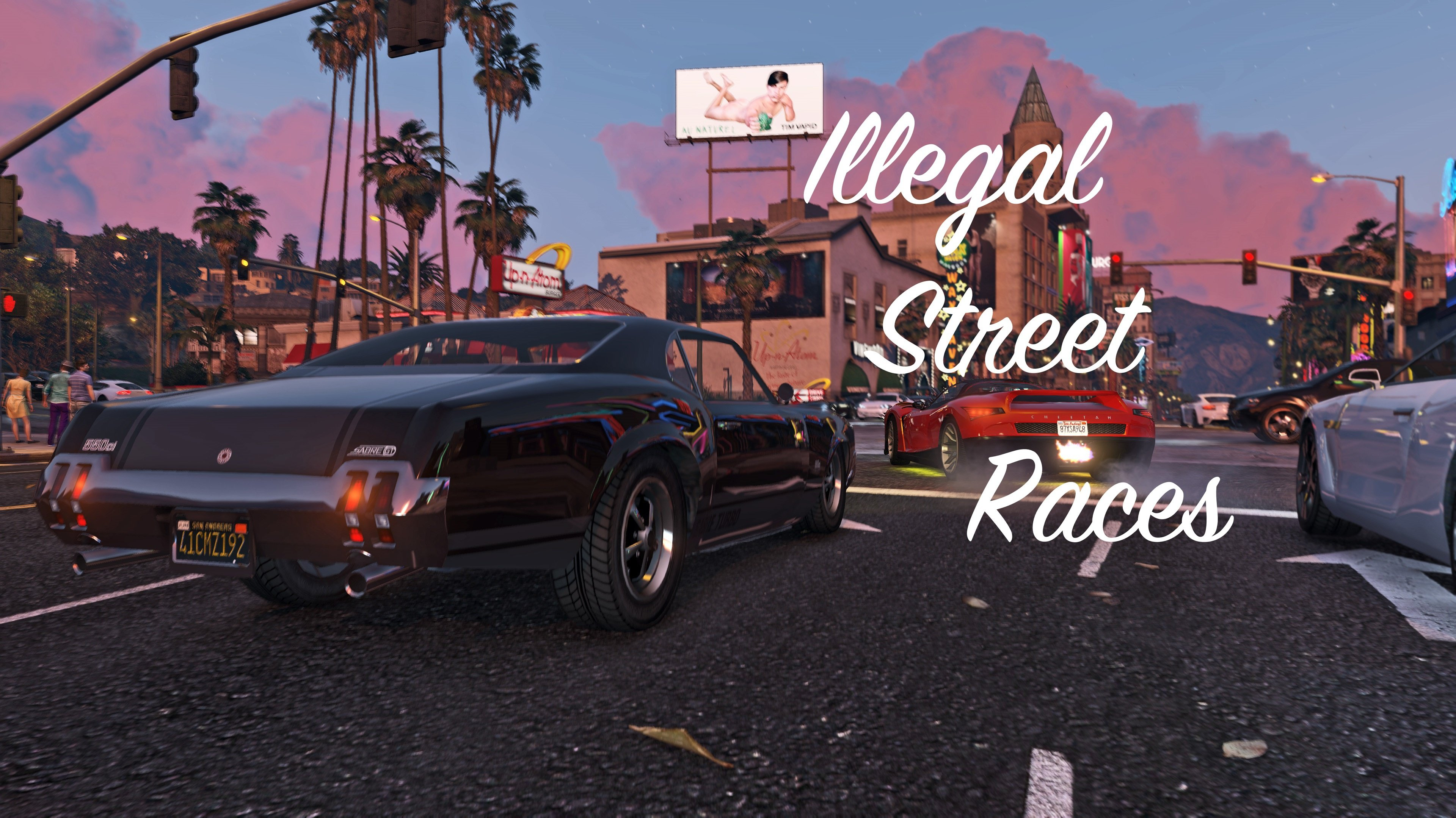 Illegal Street Races Mod v1.1 for GTA 5
