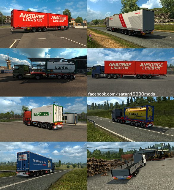 Trailer Mod Pack v4.0 by satan19990