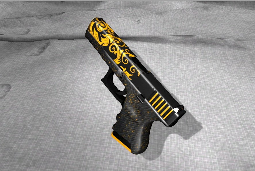 Glock-18 Silent Slayer Skin v1.0 for CS:GO