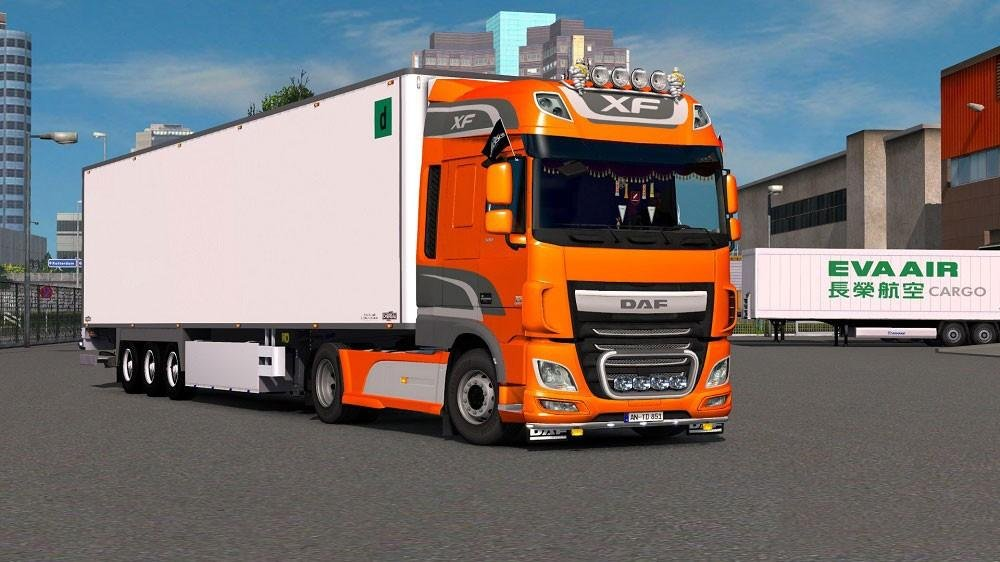 DAF XF Reworked v 1.1 by Schumi