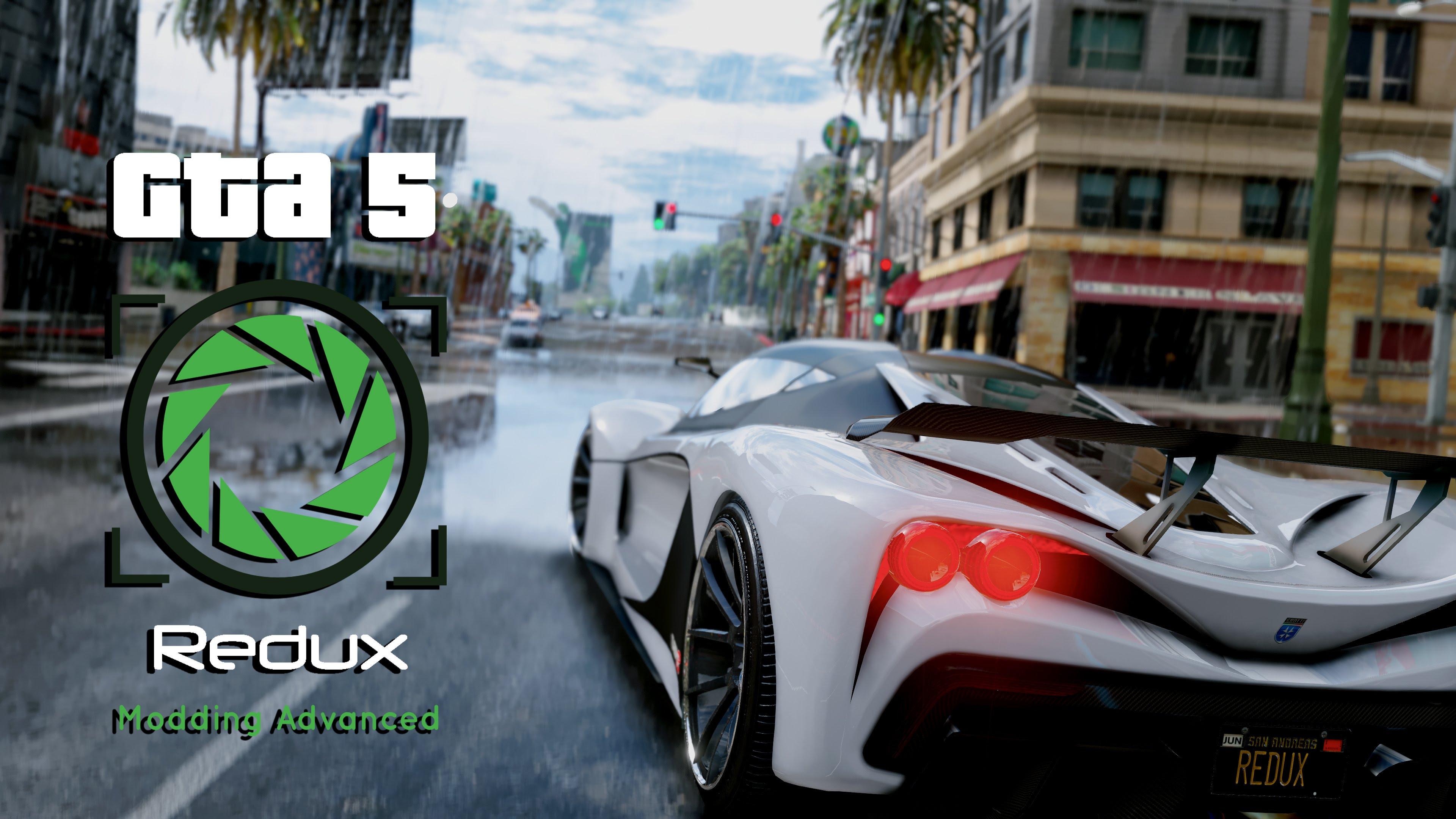 GTA V Redux (Graphics Mod) v1.7 for GTA 5