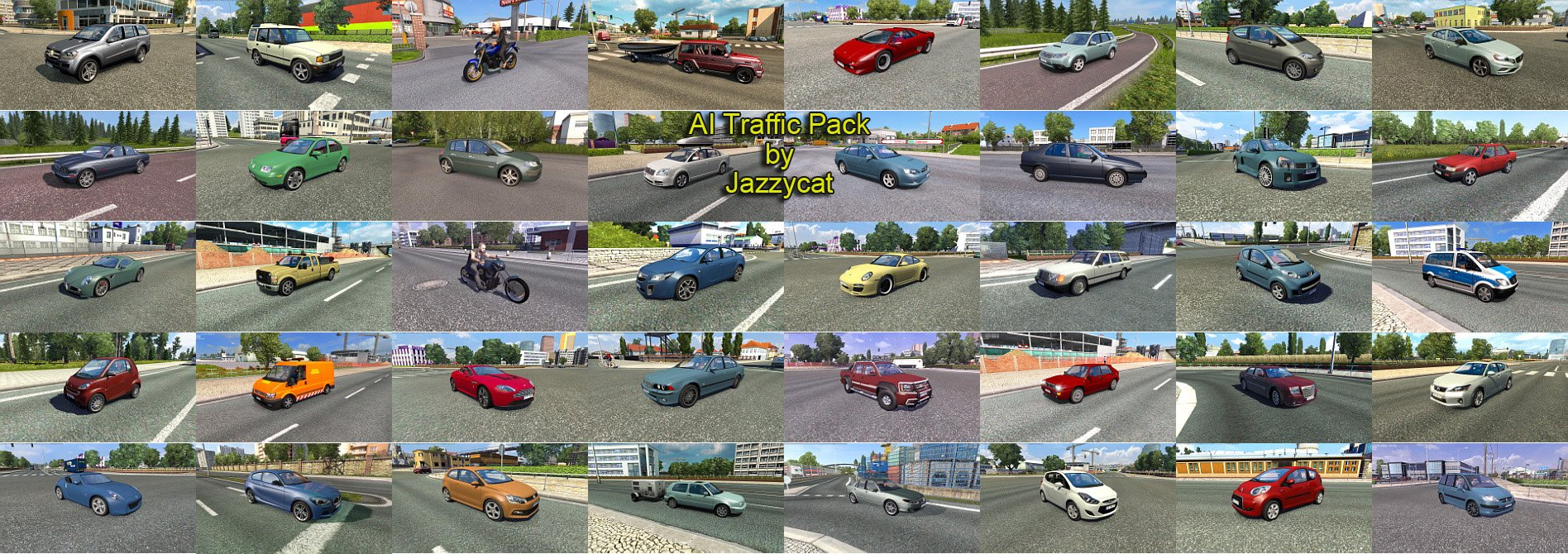 AI Traffic Pack v3.9 by Jazzycat